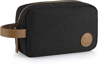 GAGAKU Hombre Dopp Kit Impermeable Neceser Bolsa de Aseo Neceser de Viaje Bolsa de Cosmético - Negro