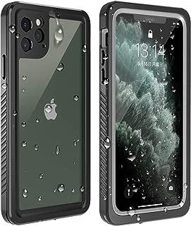 iPhone 11 Pro ケース 防水 ケース 5.8インチ 耐衝撃ケース 全面保護 米軍MIL規格取得 指紋認識対応 Qi充電対応 超軽量 塵・キズ·落下防止 高耐久ケース アイフォン11 pro ケース 5.8インチ対応 (iPhone 11 Pro)