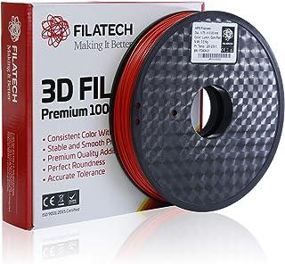 FilaTech - Dark Red HIPS Filament 0.5 KG