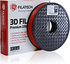FilaTech - Dark Red HIPS Filament 0.5 KG