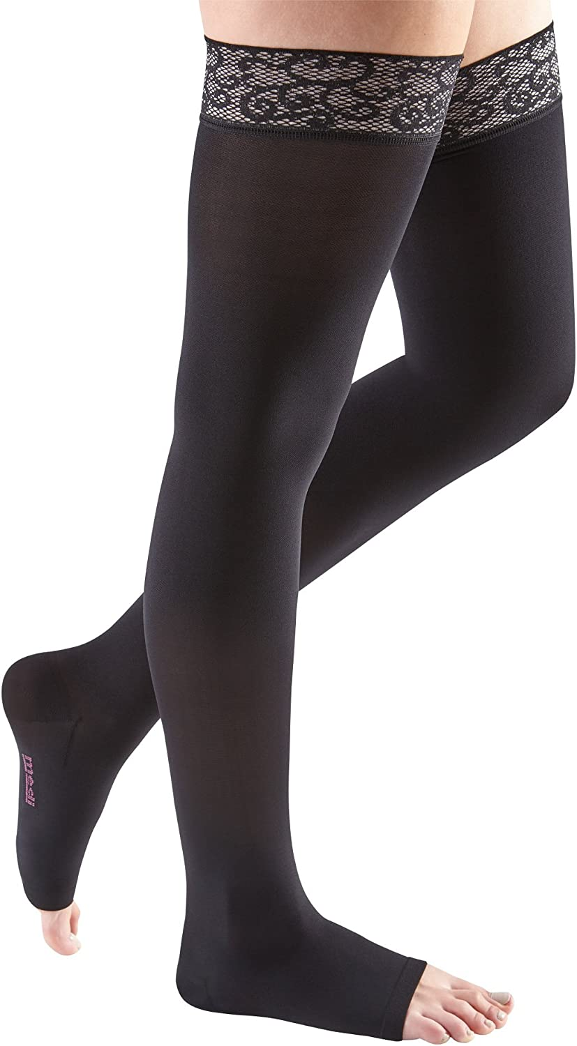 Now free shipping mediven Comfort for Women 20-30 mmHg w Stockings La Thigh High online shop