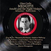 Gian carlo menotti amahl and the night visitors