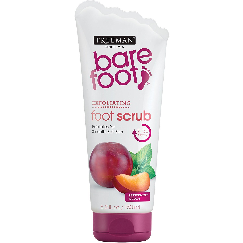 Freeman Bare Foot Max 58% OFF half Exfoliating foot Plum 5.3 Peppermint and scrub
