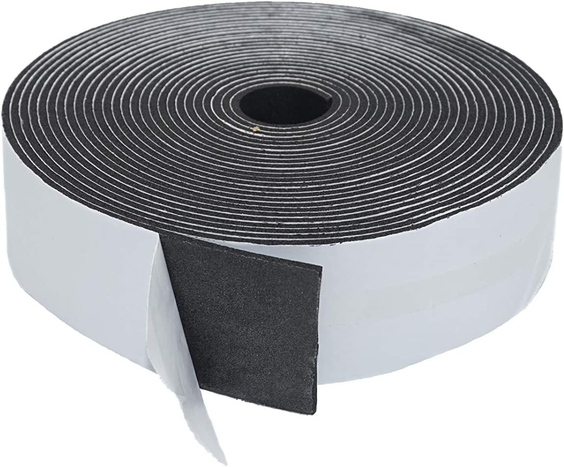 Very popular 1 8 in 2 Inches Foam New product!! for Weather Stripping Pipe Tape Insulation