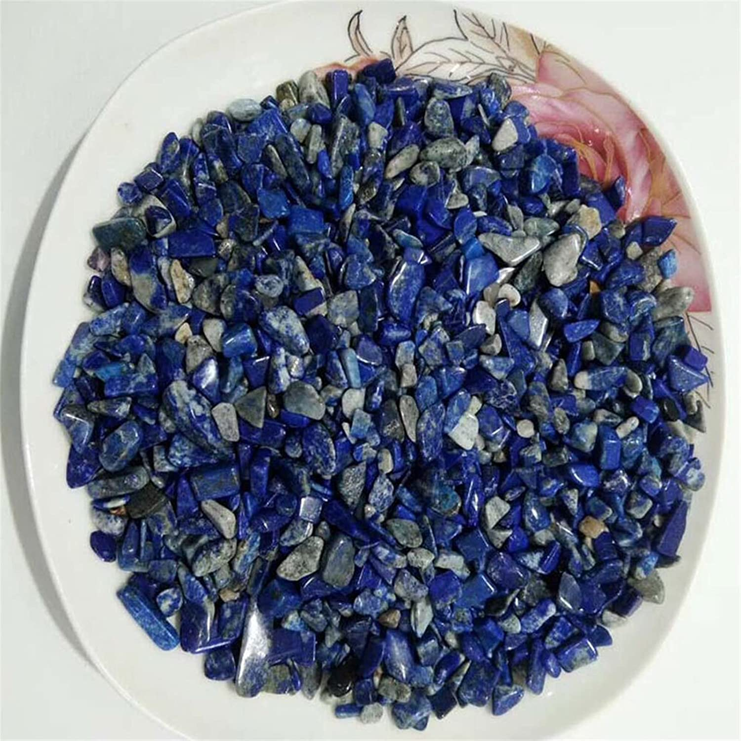 NEW Max 57% OFF before selling ☆ YSJJAXR Natural Crystal Stone 100g Lapis Pack Lazuli Lot