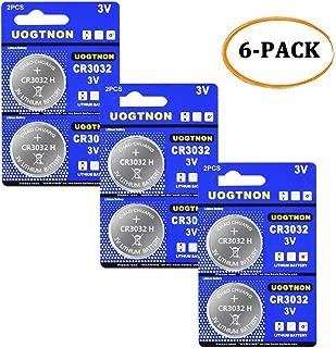 CR3032 (BR3032) 3V Lithium Battery (6 - Pack)