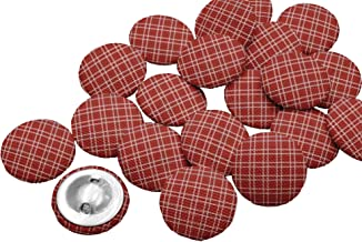 IBA Indianbeautifulart 1 Inch Buttons for Sewing Fancy Buttons for Crafts 2 Hole Scrapbooking Craft Buttons Pack of 50