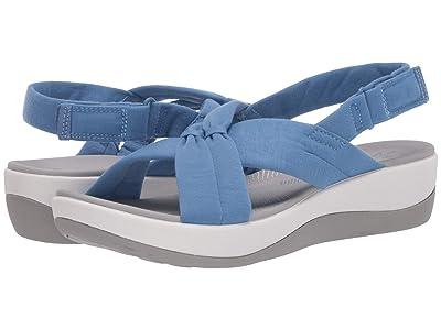 Clarks Arla Belle (Blue Textile) Women