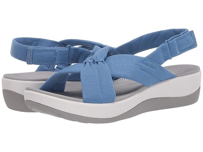 Clarks  Arla Belle (Blue Textile) Womens Shoes