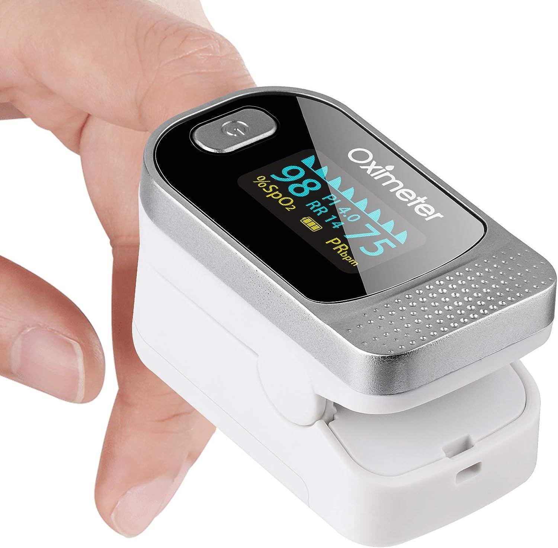 Tomorotec Fingertip Pulse Oximeter Blood Oxygen Superior Seasonal Wrap Introduction Level Saturation