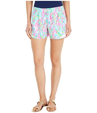 Lilly Pulitzer Ocean Trail Shorts (Multi Unicorn Of The Sea) Women