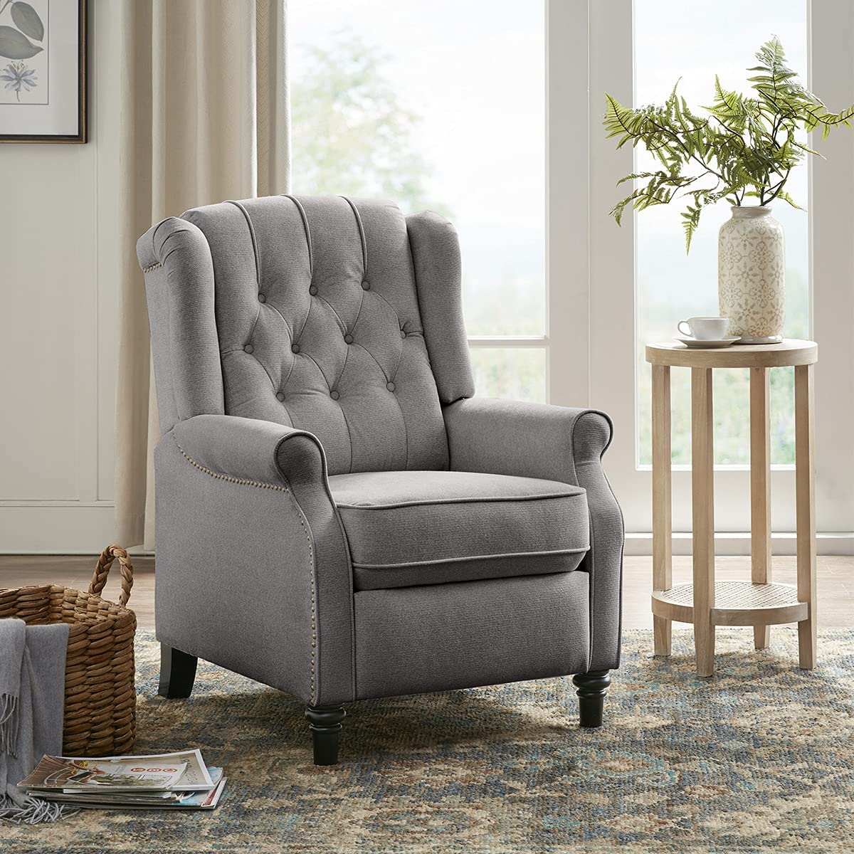Best For Back Comfortable: YANXUAN Dual-function Operation Pushback Recliner with Recliner.
