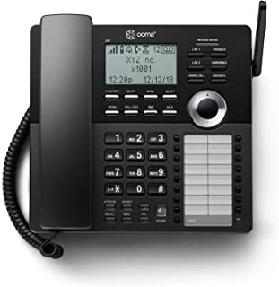 Ooma DP1-T Desk Phone for Home Office, Black