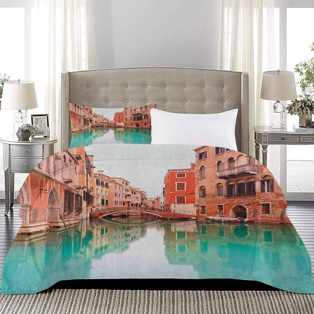 UNOSEKS LANZON Kids' Quilt Set Lowest price challenge Water Canal Outlet SALE and Bridge Ve Typical