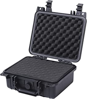 TANKSTORM Waterproof Hard Protective Case with Customizable Foam, Portable Watertight Rugged Box Ideal for DJI Spark Fly, GoPro Cameras, Spec Pistol,Electronics, Equipment and More(55021)