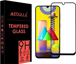 MEDULLA Edge to Edge 11D Tempered Glass Screen Protector for Samsung M31/M21 (Pack of 1)