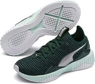 PUMA Women's Defy TZ WN's Sneaker, Ponderosa Pine-fair Aqua