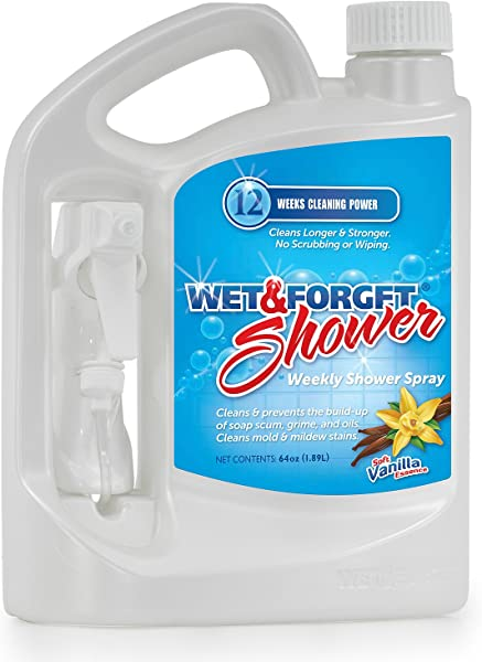 WET AND FORGET 801064 Shower 64 Oz