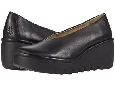 FLY LONDON BESO246FLY (Black Verona Leather) Women