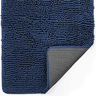 Gorilla Grip Indoor Durable Chenille Doormat, 36x24, Soft, Absorbent, Traps Water and Moisture, for Muddy Shoes and Dog Pa...