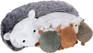 Manhattan Toy Nursing Nissa Hedgehog Stuffed Animal with 3 Baby Hedgehogs