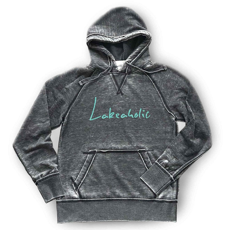 2021new shipping free shipping Sparkly Lakeaholic Hoodie Bonfire Soft Lightwei Lake Las Vegas Mall Life