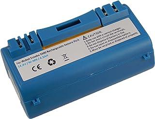vhbw NiMH batería 4500mAh (14.4V) compatible con iRobot Scooba 330, 340, 34001, 350, 380, 385, 390, 5800 5806 5832 robot l...