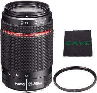 Pentax HD pentax-da 55–300mm f / 4–5.8Ed Wrレンズ+ UVフィルタ+マイクロファイバー布6Aveバンドル