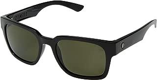 Electric Zombie Sunglasses Gloss Black with Ohm Polarized Grey Lens