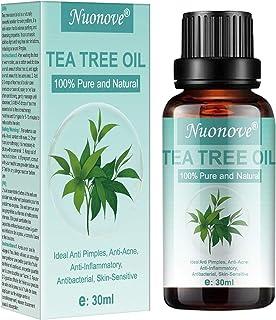 comprar comparacion Tea Tree Essential Oil, Aceite de Arbol de Te, Aceite esencial de árbol de té para cara y Cuerpo masaje, anti-acné, mancha...
