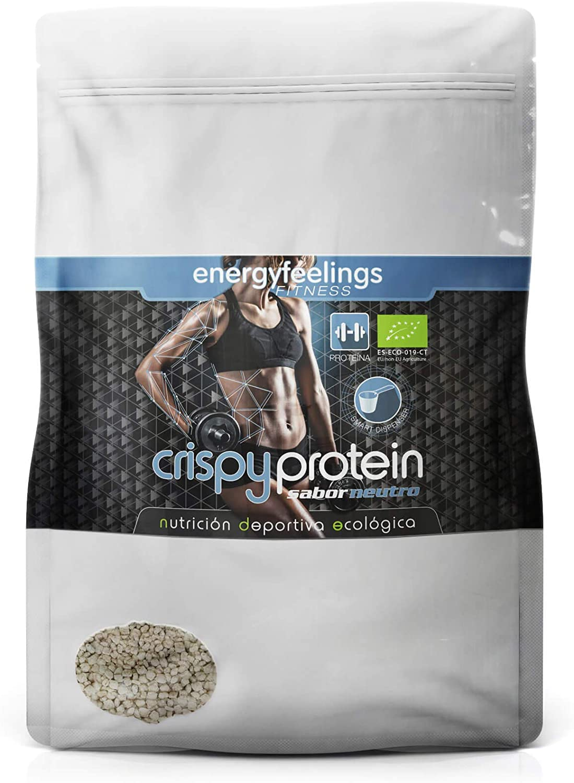 Energy Feelings Crispy Protein ecológico - 400g   proteina 40 ...