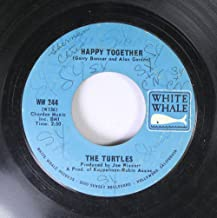 The Turtles 45 RPM Happy Together / Like The Seasons