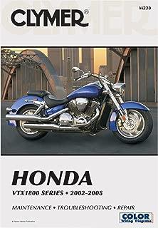 CLYMER REPAIR/SERVICE MANUAL HONDA VTX1800 02-08