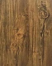 Papel de parede de madeira marrom removível papel de parede descasque e cole papel de parede de grão de madeira papel de p...