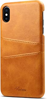 iPhone XS Max Wallet Case Slim Leather Back Protective Cover With Credit Card Holder for iPhone XS Max 6.5inch
