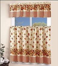 Amazon Com Autumn Kitchen Curtains