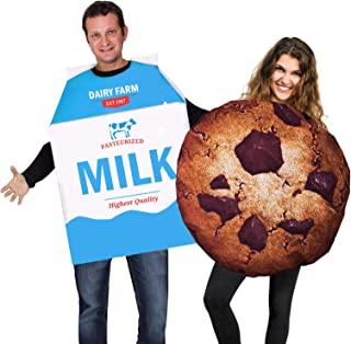 Cookie and Milk Costume - Couple Costumes - Food Costumes - Funny Costumes