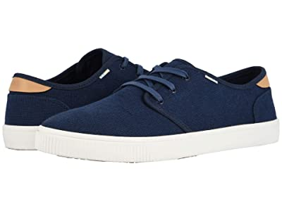 TOMS Carlo (Navy Heritage Canvas (Vegan)) Men