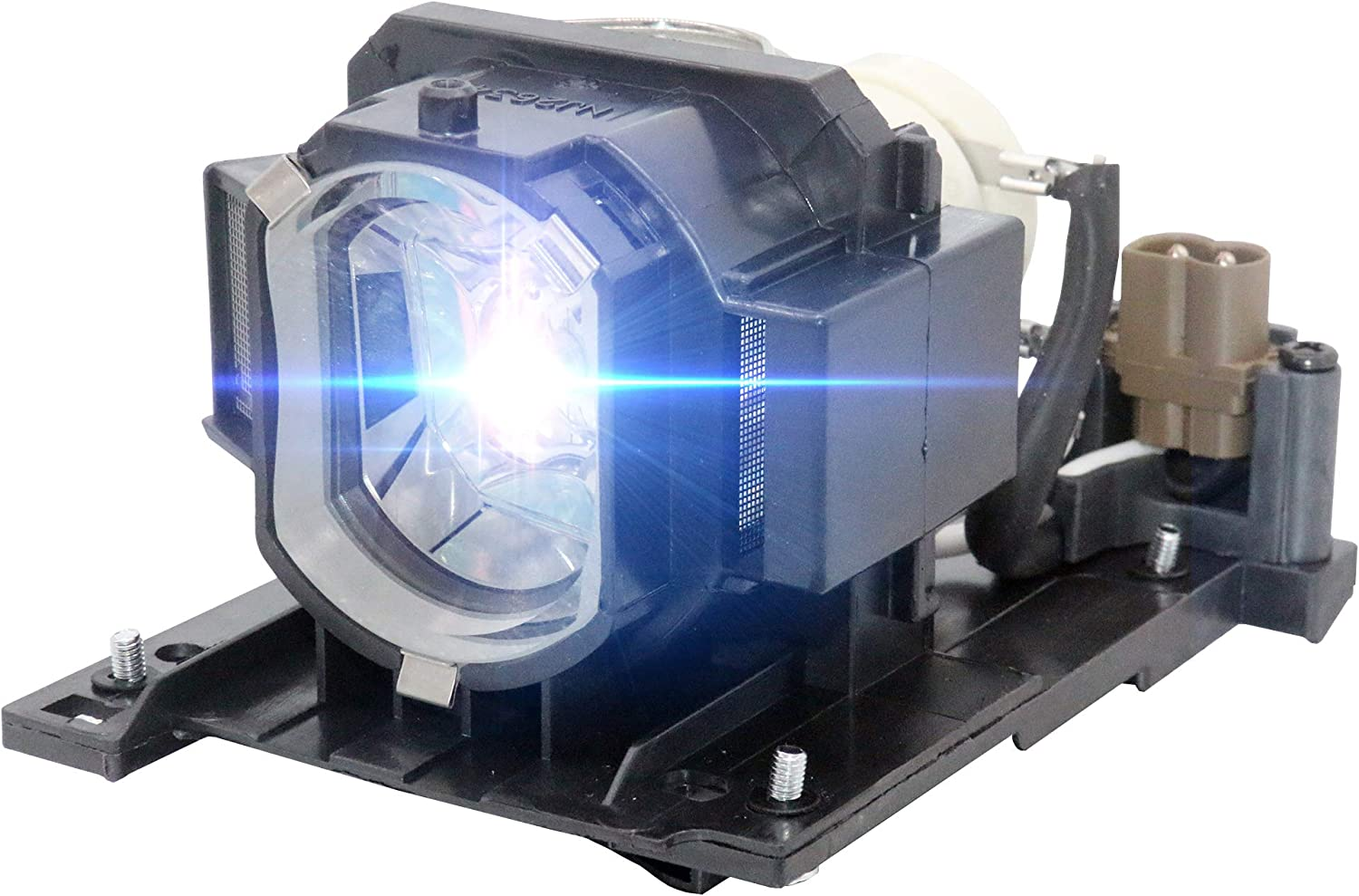 CTBAIER DT01021 Projector Lamp with Housing for Hitachi CP-X2010N CP-X2011N CP-X2010 CP-X2514WN CP-X2510 CP-X2510N CP-X3011 CP-X4014WN CP-X4011N CP-X2011 Replacement Projector Lamp