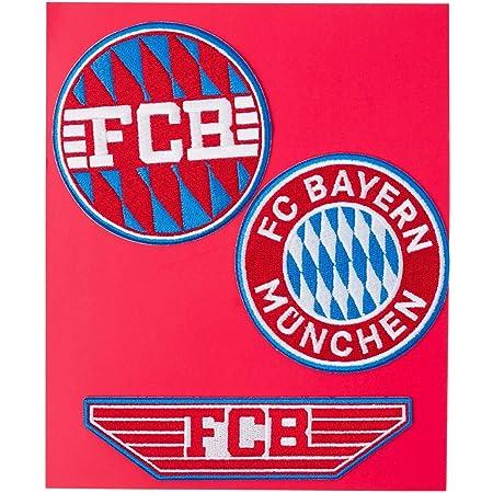 Aufnäher FC Bayern München Logo MIA SAN MIA Rekordmeister Patch Aufbügeln FCB
