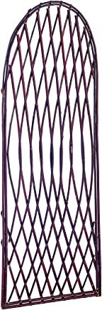 Gardman Curved Top Lattice Willow Trellis Panel 2ft x 0.6m 1.8m 6ft