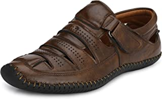 Afrojack Men's Leather Sandals
