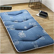 Futon Mattress, Keep Warm in Winter Tatami Mattress Thickening Mat Anti-Skid Bedroom Furniture Student Dormitory Mattress ...