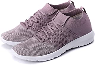 PresaNew Women's Athletic Walking Sneakers Lightweigh Casual Mesh Comfortable Walk Shoes