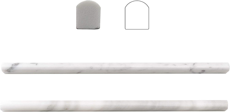 Carrara White 20 Pack 1 2