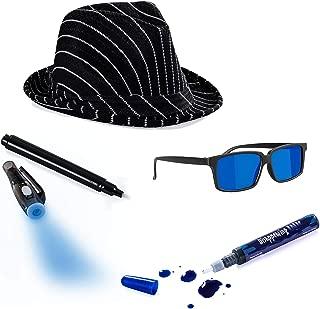 Spy Costume Secret Agent Costume by Tigerdoe Detective Costume Spy Kit 7 Pc Costume Accessories