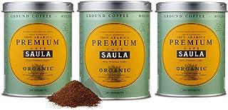 comprar comparacion Café Saula Premium Ecológico 100% arábica molido - Pack 3 botes de 250 gr