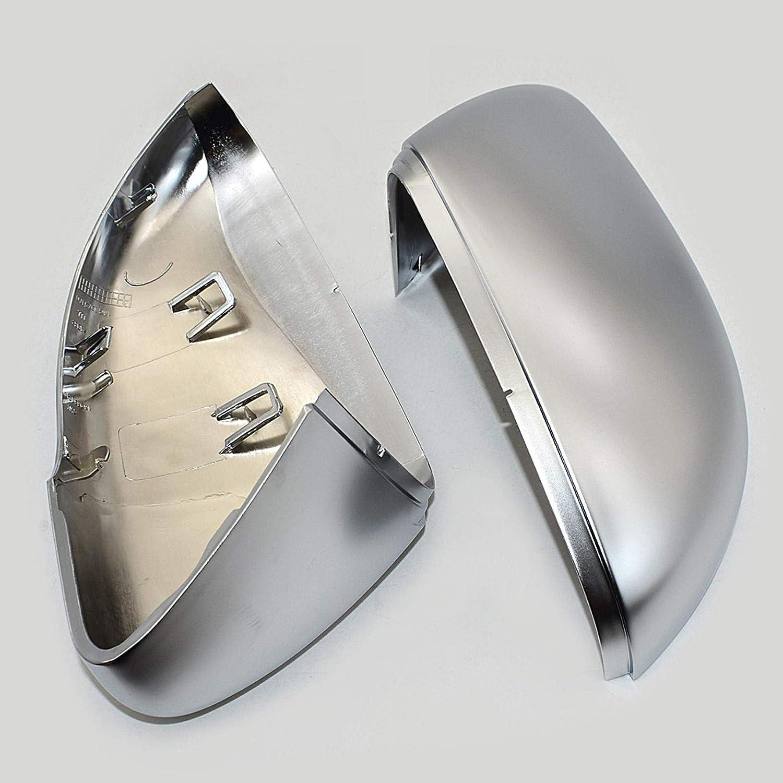 ZHXANDZYX Matt Chrome Mirror Cover Cap H Side Super beauty product restock quality top Cheap Rear Silver