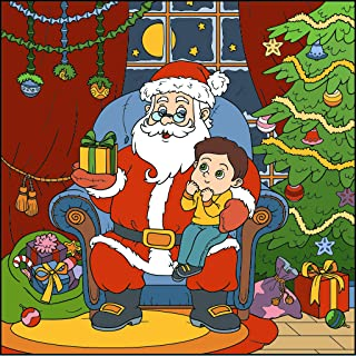 Christmas Coloring Book for Kids and Adults