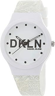 DANIEL KLEIN DKLN Plastic Case Silicon Band Ladies Wrist Watch - DK.1.12436-1